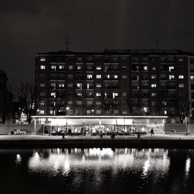 Luci Qualche sera fa Lights A few nights ago